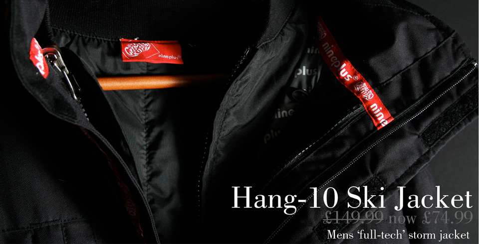 Mens Hang 10 Waterproof Ski Jacket
