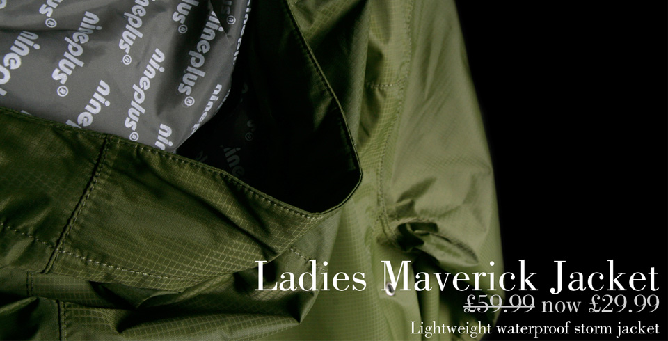 Ladies Nineplus Maverick Waterproof Storm Jacket
