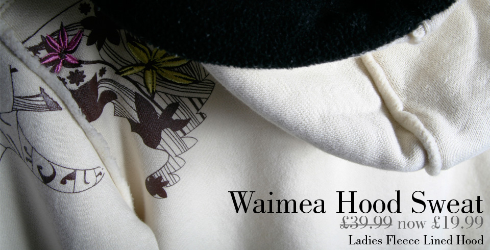 Ladies Wiamea Fleece LIned Hood